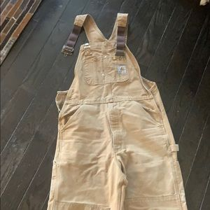 Carhartt overalls. Size 32x32 I think